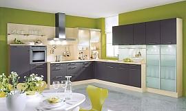 Moderne küche l form  L-Form-Küche