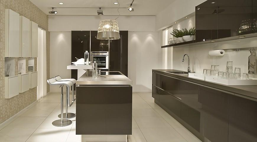 Stil moderne küchen planungsart küche mit küchen insel
