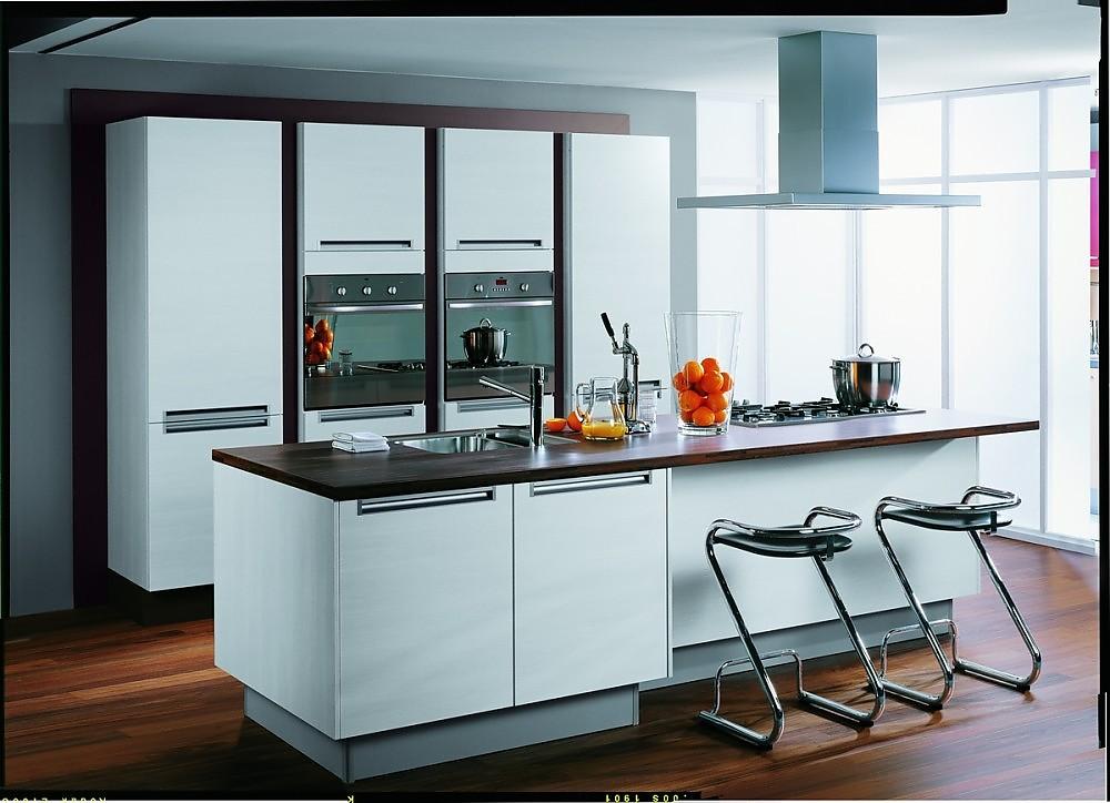 Zuordnung Stil Moderne Küchen, Planungsart Küche mit KüchenInsel