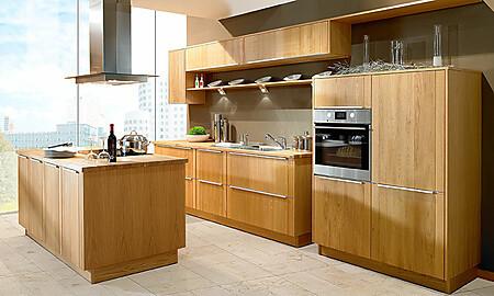 Holzküche bei KüchenAtlas: Alles über Holzküchen