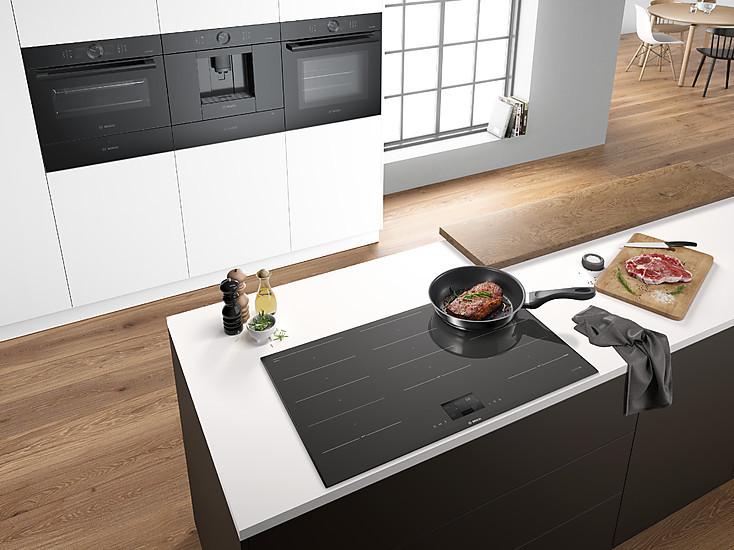 Bosch Accent Line Kühlschrank : Bosch accent line carbon black exklusive geräte in schwarz