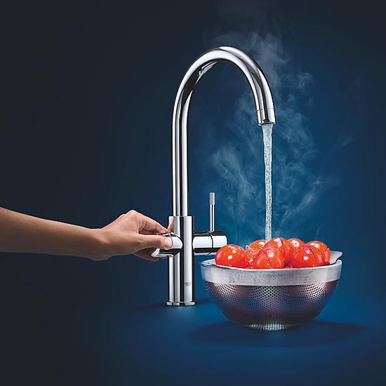GROHE Red Wassersystem: Kochendes Wasser Aus Der Küchenarmatur