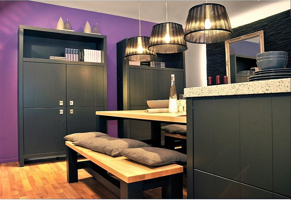 proline 128 grahpit furniert. Black Bedroom Furniture Sets. Home Design Ideas