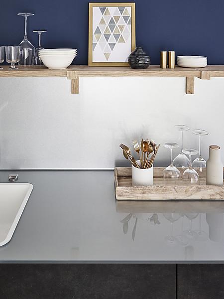 Glasarbeitsplatten Für Die Küche Arbeitsplatten Bei Küchenatlas