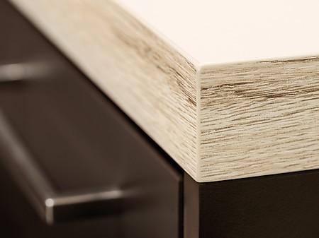 arbeitsplatten kanten beliebte formen und designs. Black Bedroom Furniture Sets. Home Design Ideas