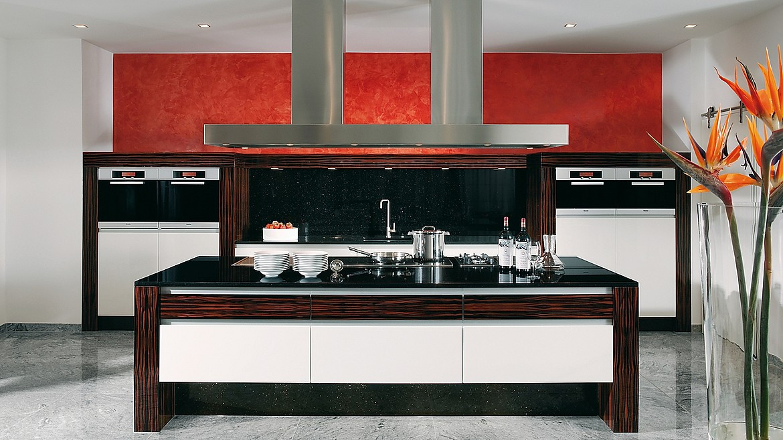 Küchen modern art  Modern ART Inselküche