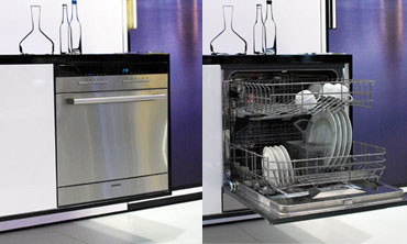 innovative k chenger te siemens speedmatic modular geschirrsp ler. Black Bedroom Furniture Sets. Home Design Ideas