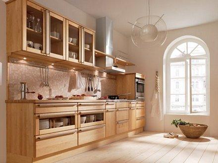 holzarten f r die holzk che die holzk che bei k chenatlas. Black Bedroom Furniture Sets. Home Design Ideas