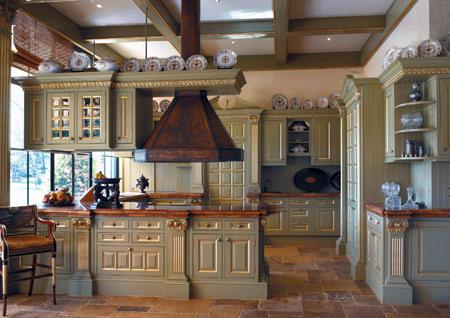 landhausk che herrschaftlich die landhausk che im englischen kolonialstil oder im renaissencestil. Black Bedroom Furniture Sets. Home Design Ideas