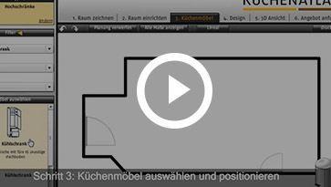Küchenplaner online Kostenlos ohne Download und in 3D